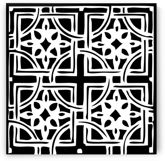 Blackandwhitegeometricgeometrypattern by Shamudy