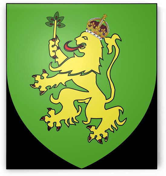 Alderney Coat of Arms by Fun With Flags