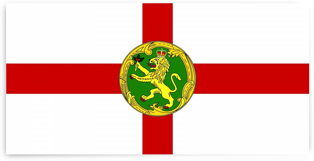 Alderney Flag by Fun With Flags