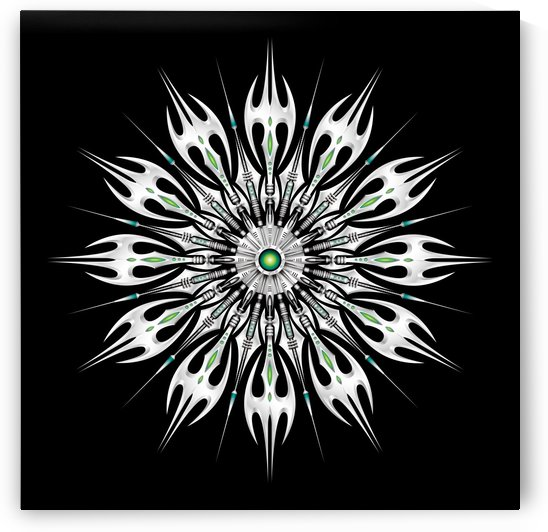 Absinthum Reactor Mandala by alienstudio