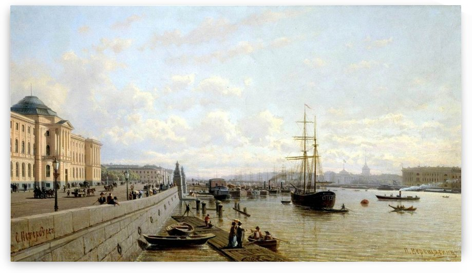 City view by Bernardo Bellotto