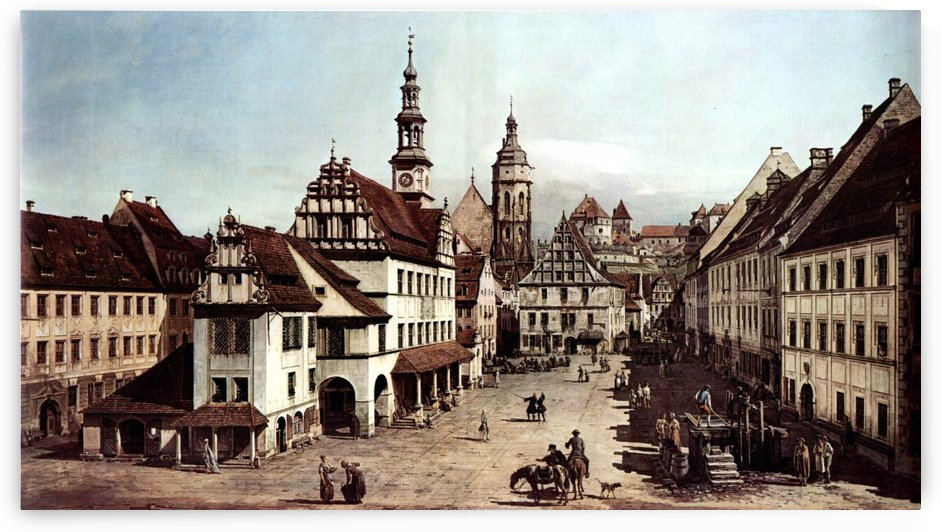 City of Pirna by Bernardo Bellotto
