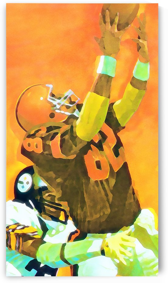 cleveland browns football art row one by Row One Brand