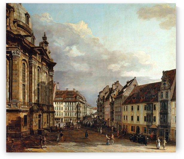 Staatliche Kunstsammlungen Dresden by Bernardo Bellotto