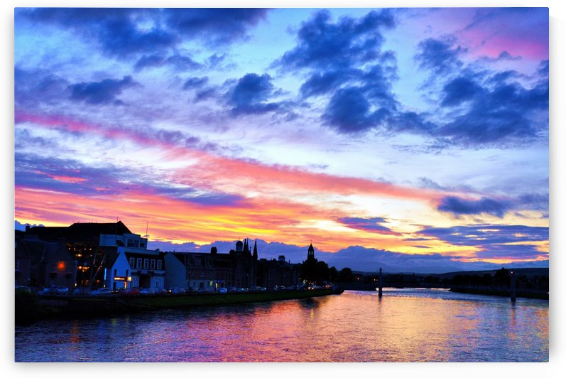 INVERNESS SUNSET 1 by Jean-Jacques MASSOU