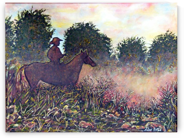 Morning Dew and the Horseman  by Lisa Bates