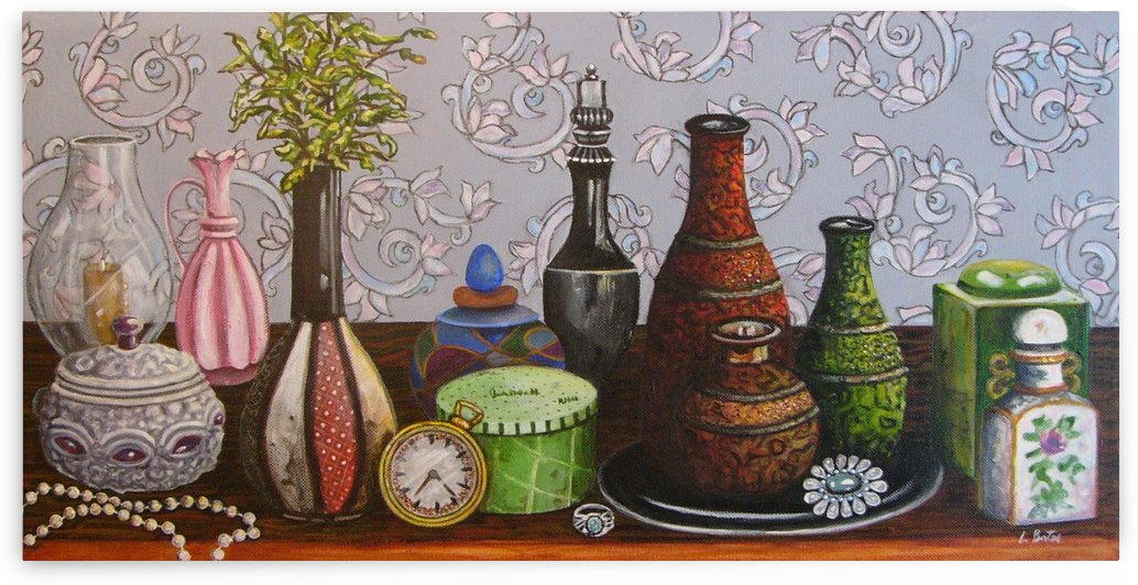 Vintage Still Life by Lisa Bates