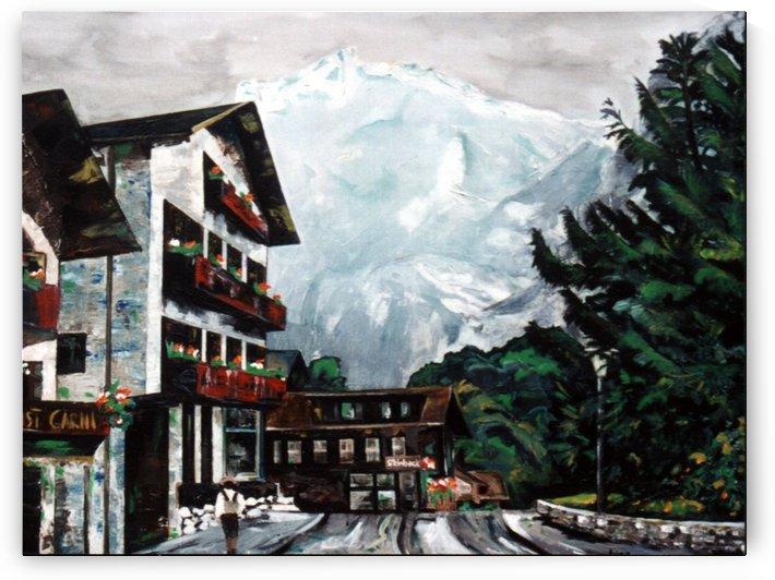 The Matterhorn in Switzerland by Lisa Bates