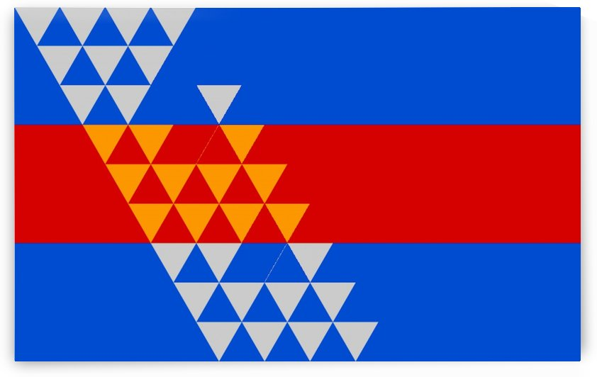 Pomo Indian Flag by Fun With Flags