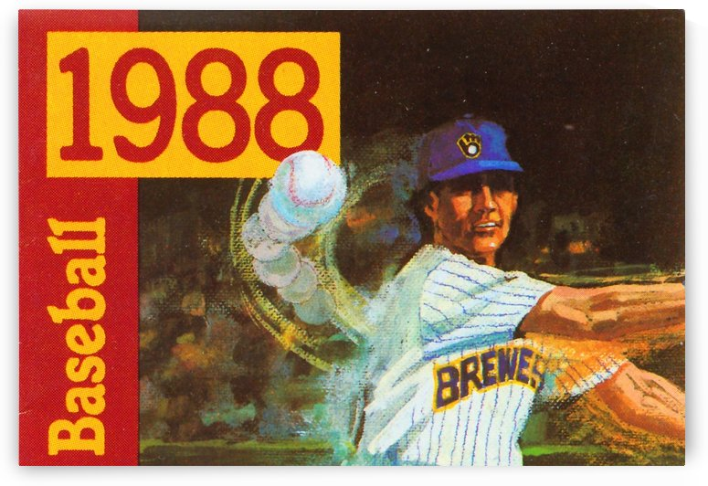 milwaukee brewers baseball art vintage sports posters retro metal signs garage artwork by Row One Brand