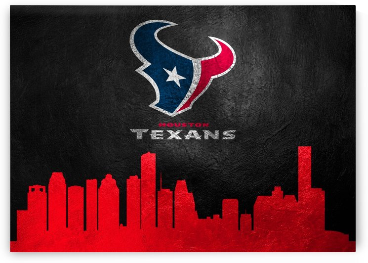 Houston Texans Skyline by ABConcepts