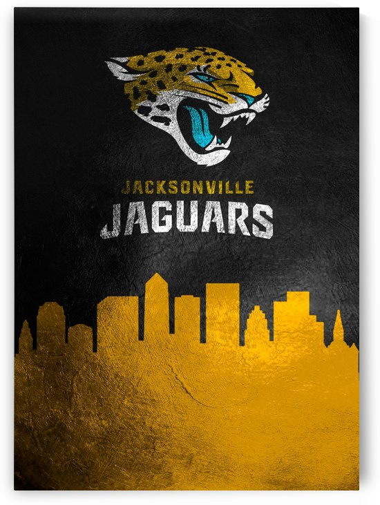 Jacksonville Jaguars Skylin by ABConcepts