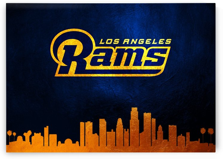 Los Angeles Rams Skyline by ABConcepts