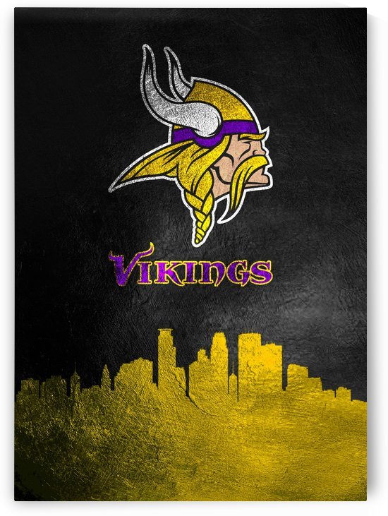Minnesota Vikings Skyline by ABConcepts