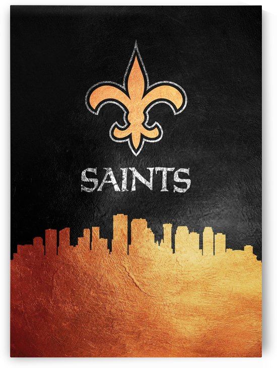 Neworleans Saints Skyline by ABConcepts