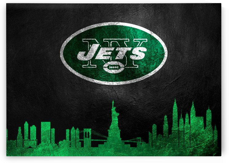 New York Jets Skyline  by ABConcepts