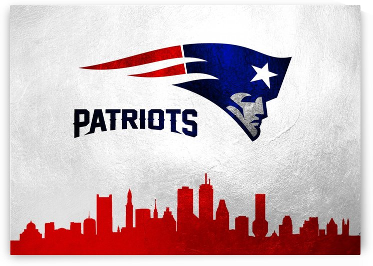 New England Patriots Skyline by ABConcepts