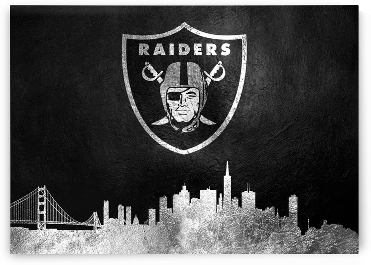 Oakland Raiders Skyline by ABConcepts