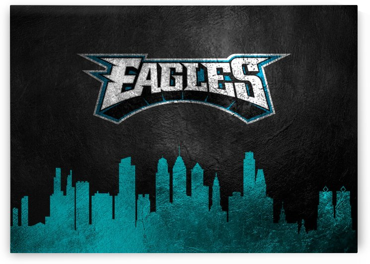 Philadelphia Eagles Skyline by ABConcepts