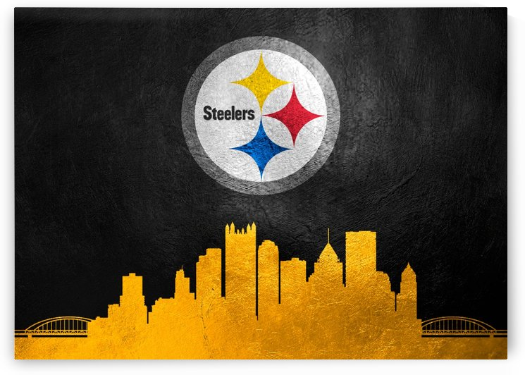 Pittsburgh Steelers Skyline by ABConcepts