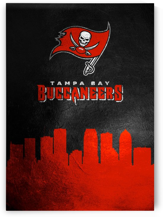 Tampa Bay Buccaneers Skyline by ABConcepts