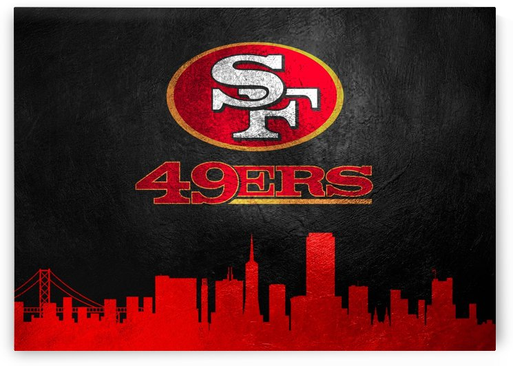 San Francisco 49ers Skyline by ABConcepts