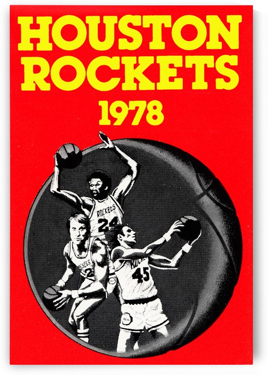 1978 Houston Rockets  by Row One Brand