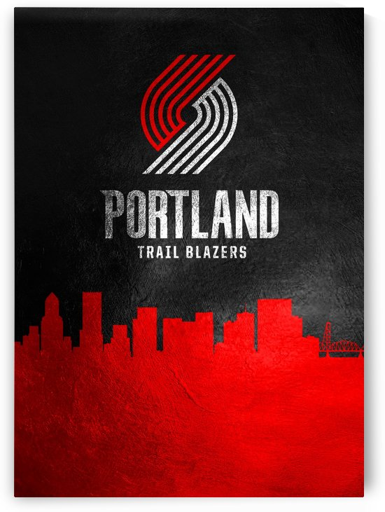 Portland Trailblazers by ABConcepts