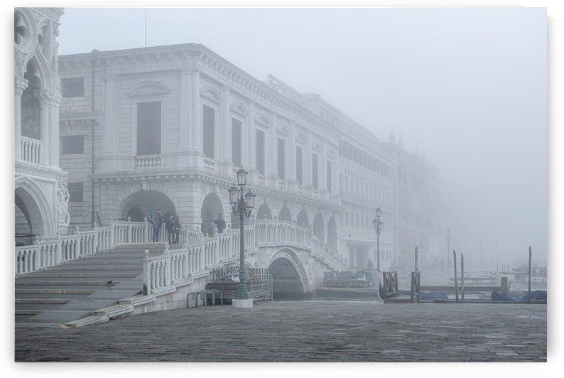 Fog Winter Scene Venice Italy by Daniel Ferreia Leites Ciccarino