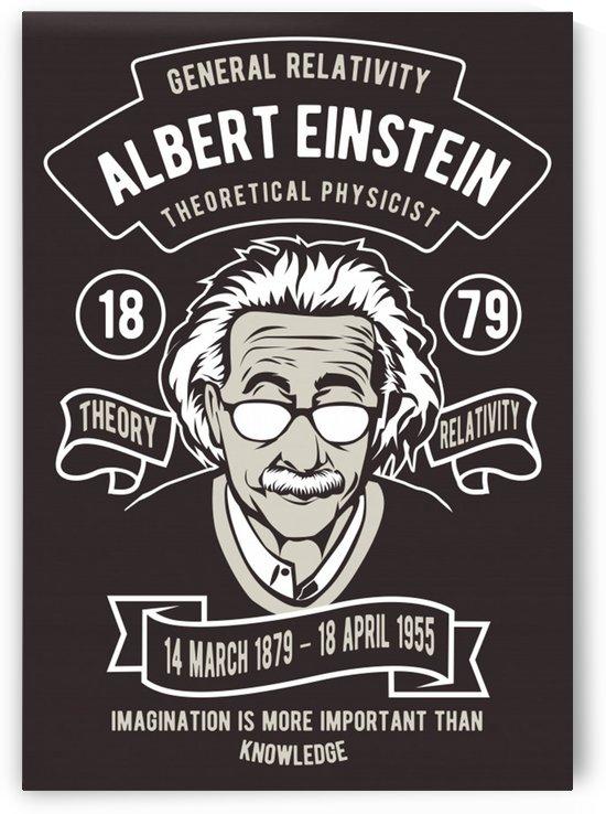 Albert einstein poster by Shamudy