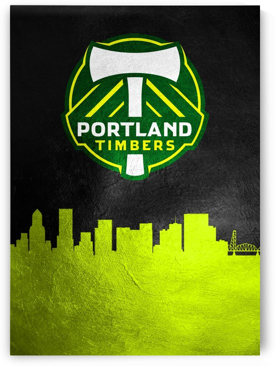 Portland Timbers by ABConcepts