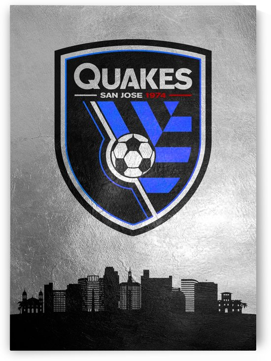 San Jose Earthquakes Black by ABConcepts