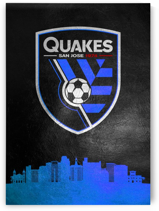 San Jose Earthquakes Blue by ABConcepts