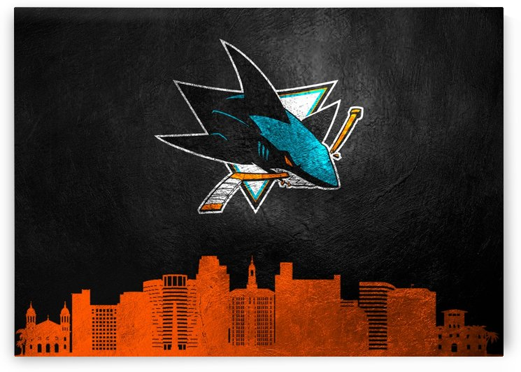 San Jose Sharks by ABConcepts