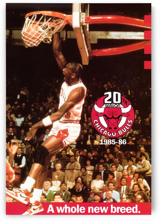 1985 Michael Jordan Dunk by Row One Brand