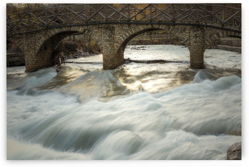 river water long exposure waterfall by Shamudy