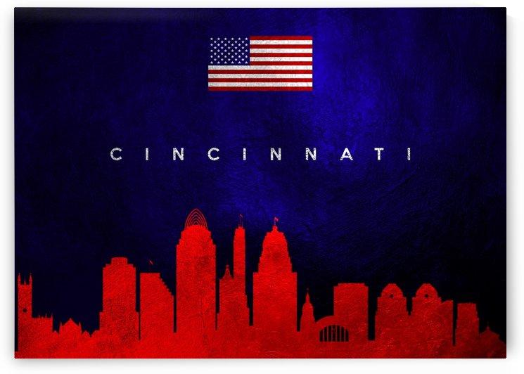Cincinnati Ohio Skyline Wall Art by ABConcepts