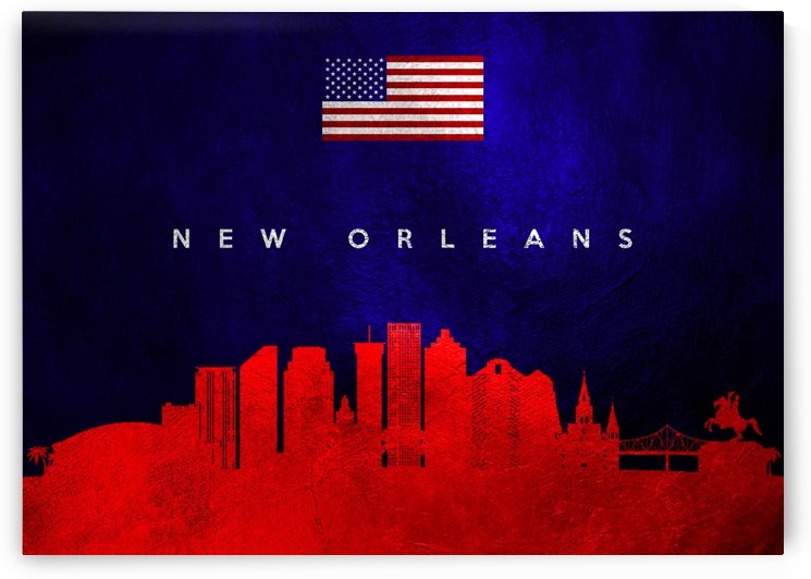 New Orleans Louisiana by ABConcepts