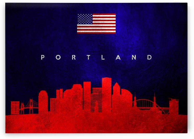 Portland Oregon Skyline Wall Art by ABConcepts