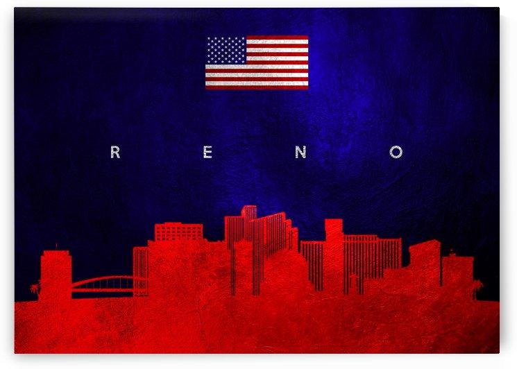 Reno Nevada Skyline Wall Art by ABConcepts