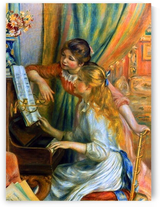 Girls at the Piano by