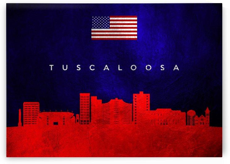 Tuscaloosa Alabama Skyline Wall Art by ABConcepts