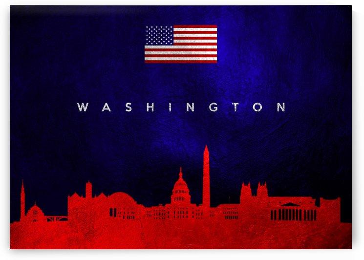 Washington Skyline Wall Art by ABConcepts