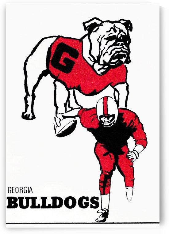 1976 Georgia Bulldogs by Row One Brand