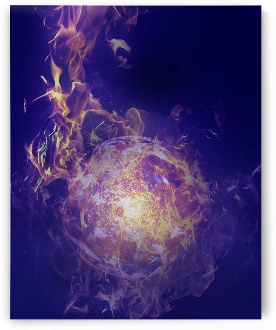 Flame by Devenald Sharma