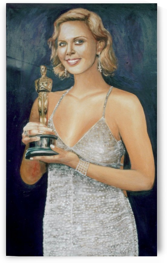Charlize Theron by Dr Stephen Achugwo