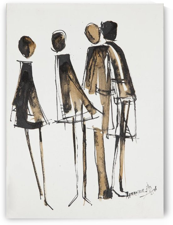 Passerby: Coffee and Ink by Anya Romanenko
