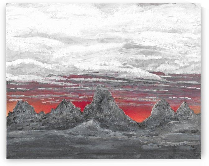 Teton Sunrise by Lee Garrett