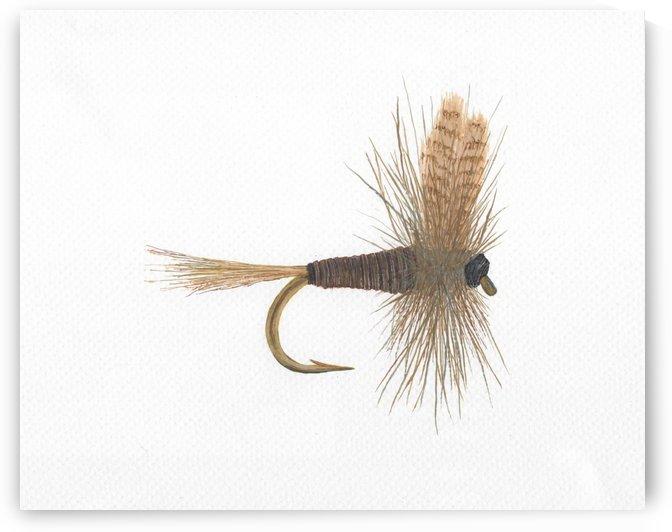 Quill Gordon Dry Fly by Lee Garrett