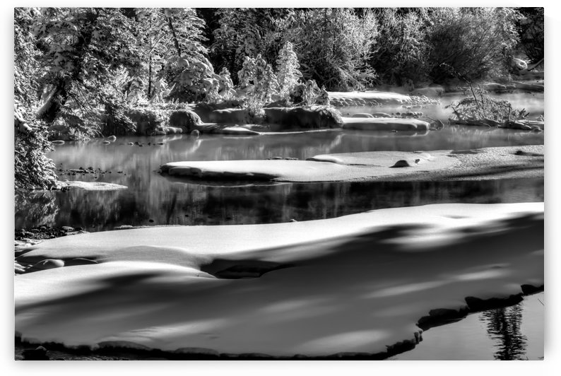 Frosty Creek In Alberta  by Mike Gould Photoscapes